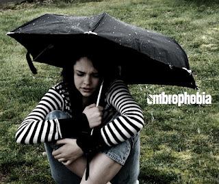 Ombrophobia, fear of rain