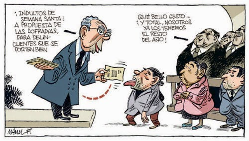 Indultos de Semana Santa, por Manel Fontdevila