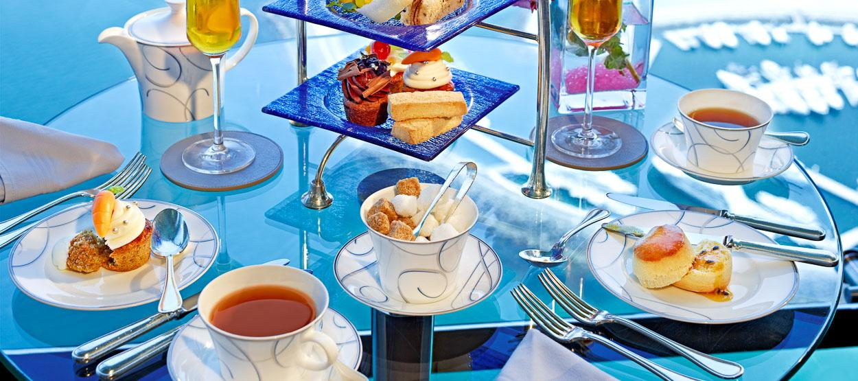 The Next Stage Of Afternoon Tea Was Selection Burj Al Arab Offers Guests An Extensive Variety Diffe Teas To Try Alongside Providing