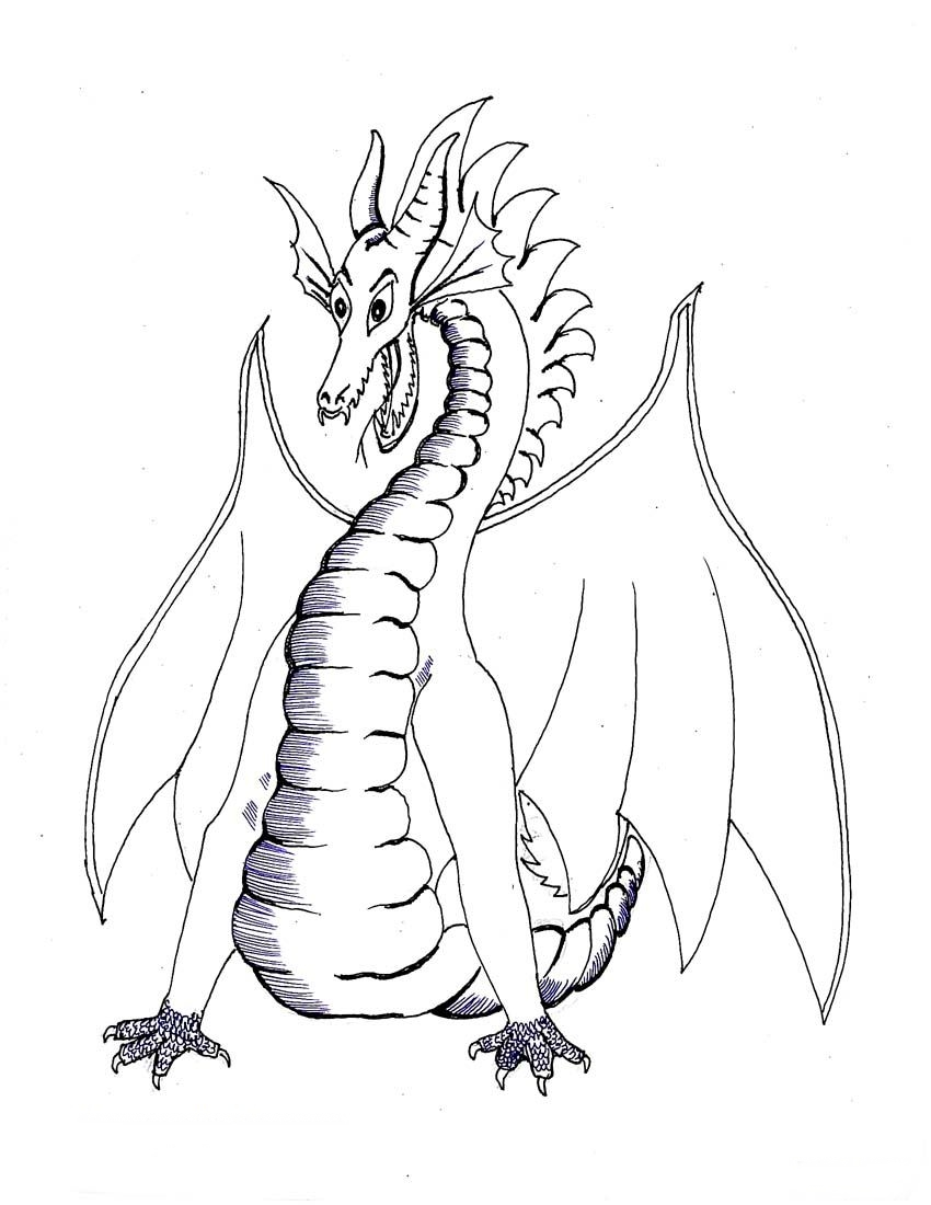 Dragon Coloring Pages Realistic Realistic Coloring Pages Realistic Colouring Pages