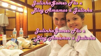 Foto pega no site do Jornal Extra:http://extra.globo.com/ veja mais da Julia No Site:http://amamosajulinha.blogspot.com.br/