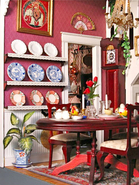 miniature dining room