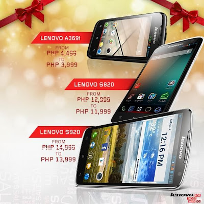 Gift from Lenovo Mobile Philippines - Get Quad Core Lenovo S920, S820 ...