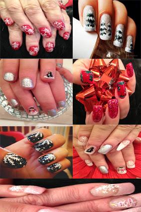 nail art christmas designs
