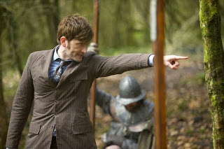 David Tennant returns as the tenth doctor in Doctor Who: Day of the Doctor