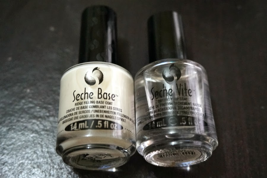 Seche Base and Seche Vite Topcoat