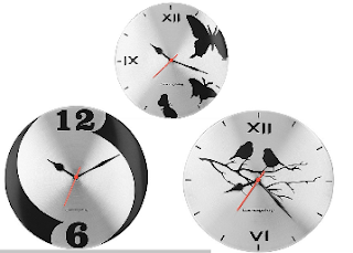Groupon : Buy Cosmosgalaxy steel Wall Clocks At  67% OFF And  Extra 30% OFF
