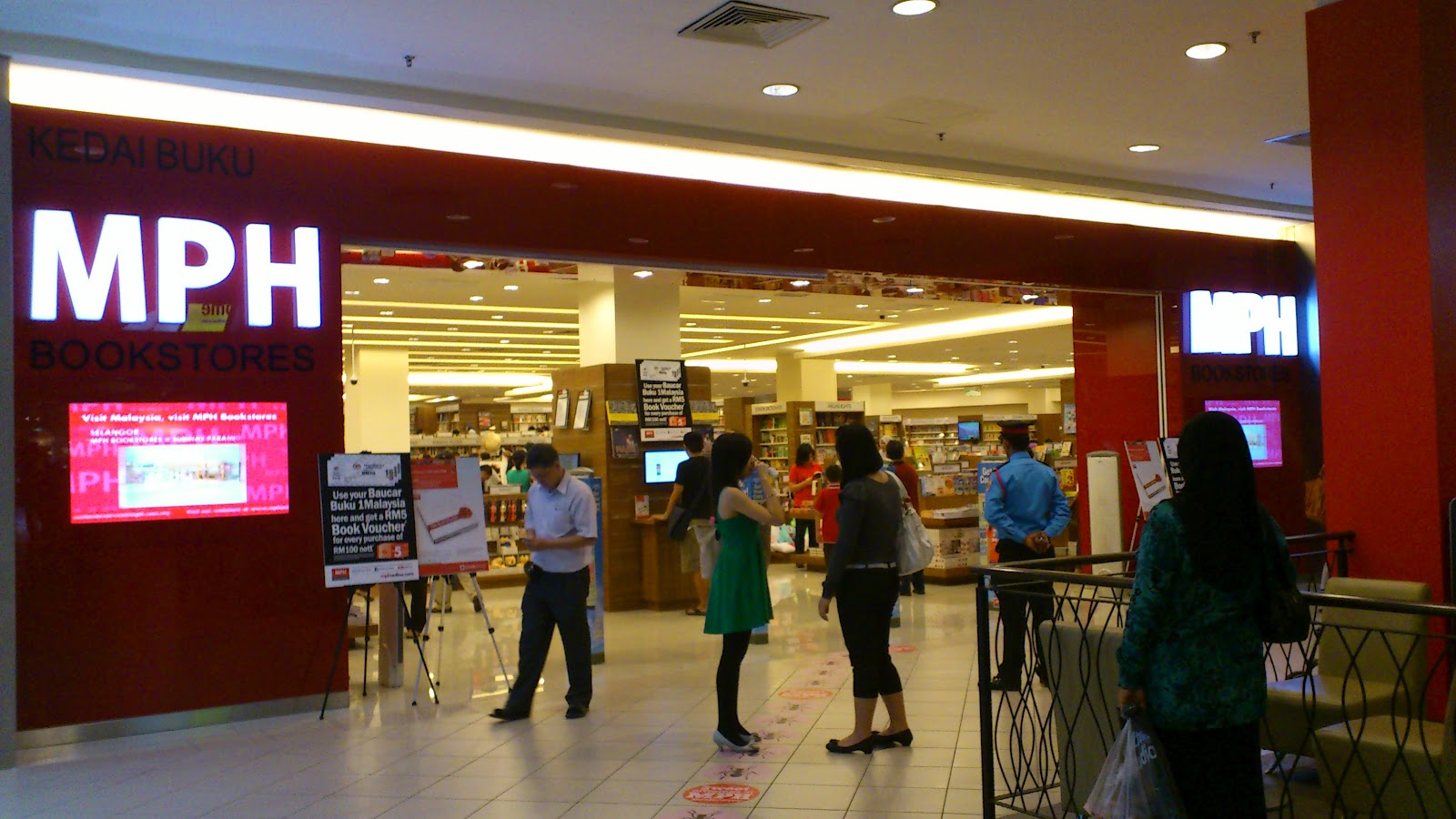 Darren の Blogspot Mid Valley Megamall 06 02 2012