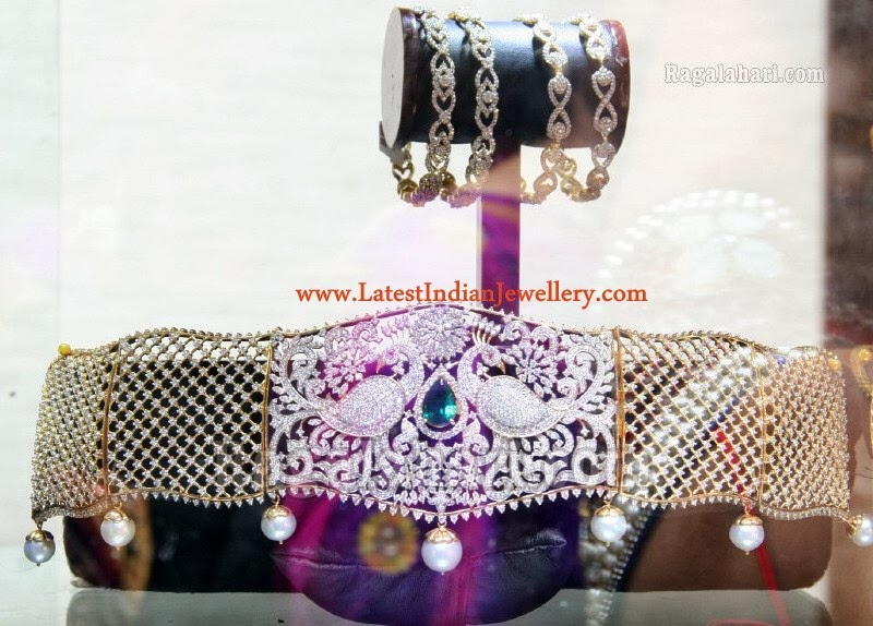Diamond Waist Belts Vaddanam Designs