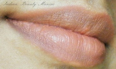 Kryolan Lipstick in Shade LC 131 after fading