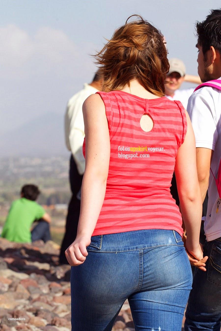 mexicanas con buen trasero en jeans - Sexy girls on the street, girls ...
