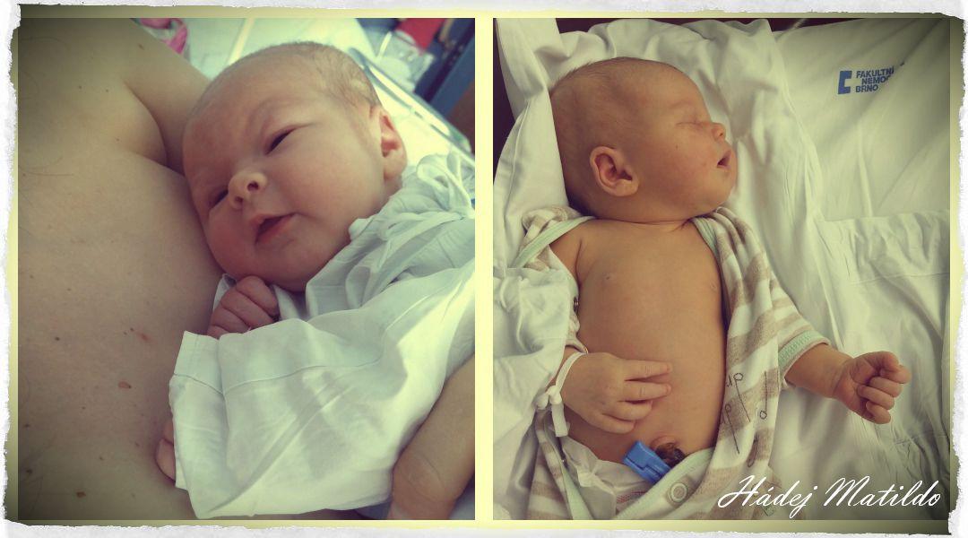 miminko, novorozeně