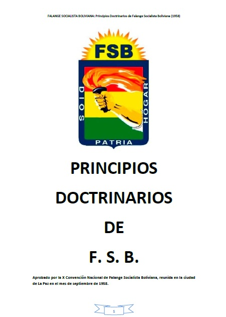 Principios Doctrinarios FSB