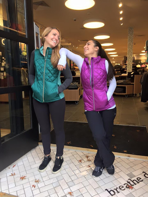 lululemon tender-violet-forage-teal-down-for-a-run-vest