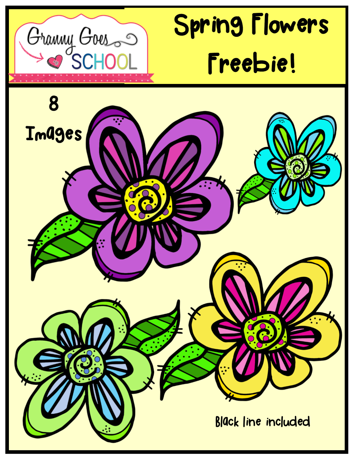 https://www.teacherspayteachers.com/Product/Spring-Flower-Freebie-1776901