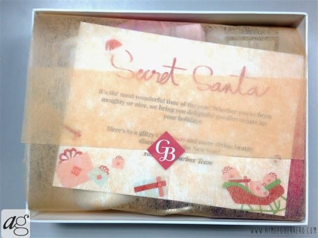 Glamourbox December 2013 Secret Santa