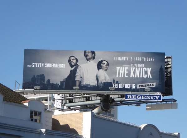 The Knick season 2 billboard