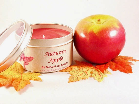 apple soy candle