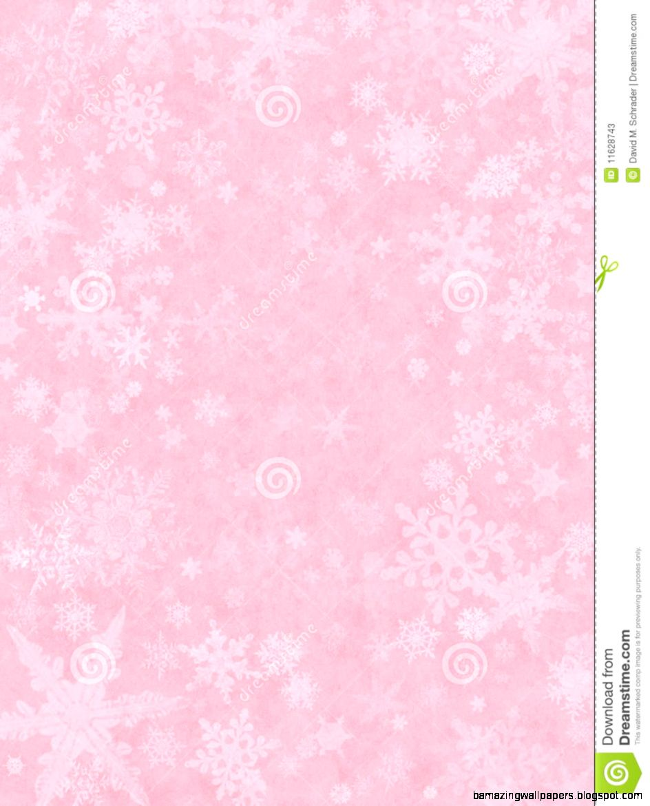 Subtle Snow On Pink Stock Photos   Image 11628743