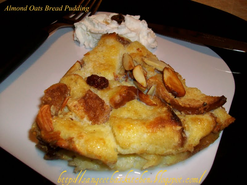 Oats Bread Pudding