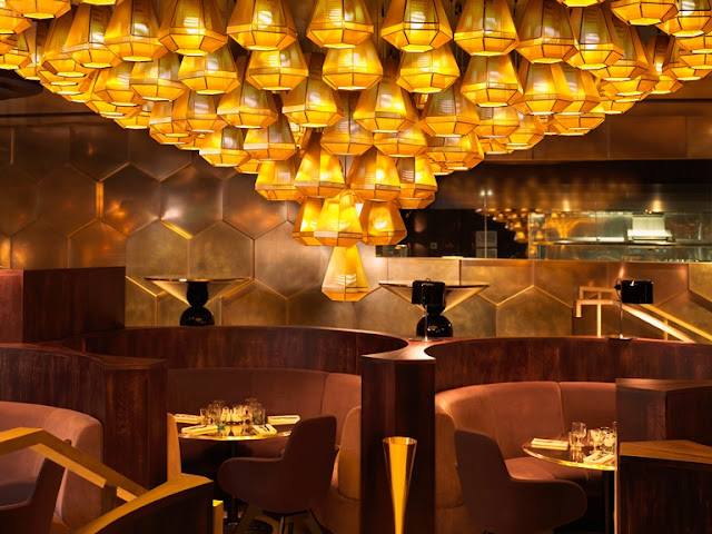 Mondrian's interior designed by Tom Dixon