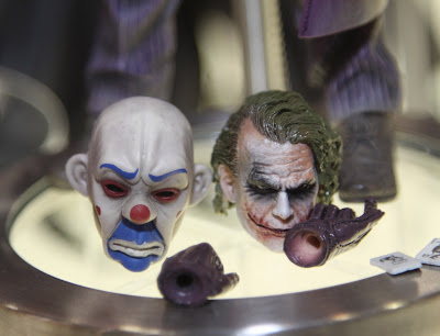 Square Enix Play Arts 2013 Toy Fair Display - The Dark Knight Joker figure