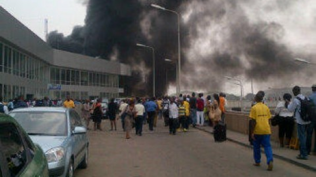 fire lagos airport