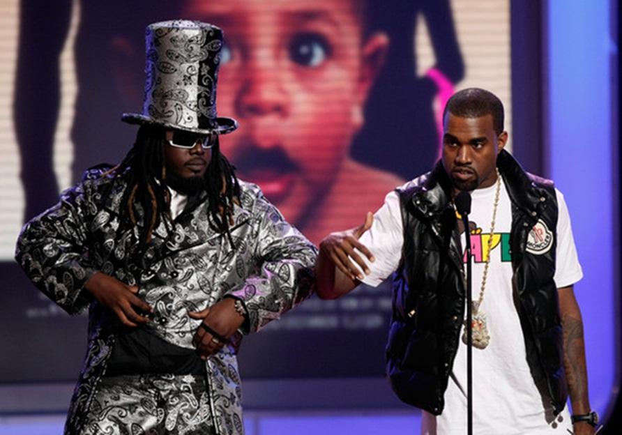 T-Pain diz que Kanye West copiou seu álbum 'Rappa Ternt Sanga'