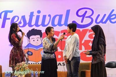 Talkshow Dee Festival Saya Suka Baca