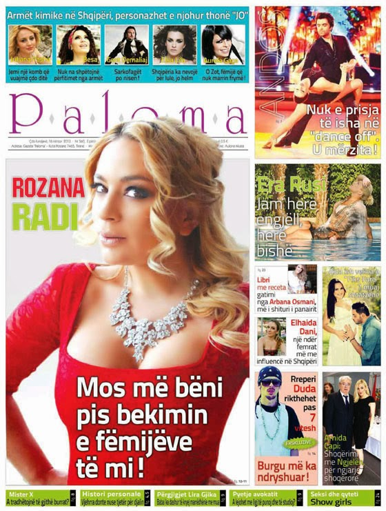 "Revista ""Paloma"" - 16 Nentor 2013"