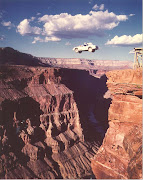 The Grand Canyon , carved by the Colorado River in the United States, .