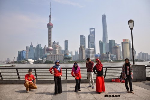 kenangan di the bund shanghai