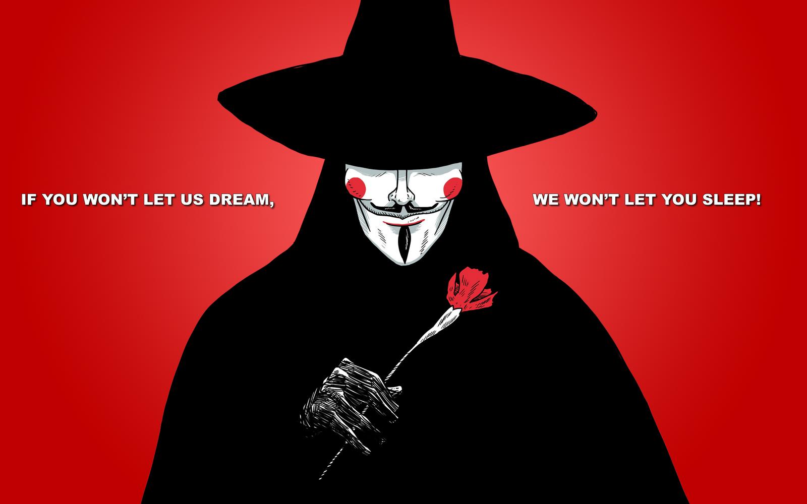 V For Vendetta Mask Wallpaper Quotes V For Vendetta Wallpap...