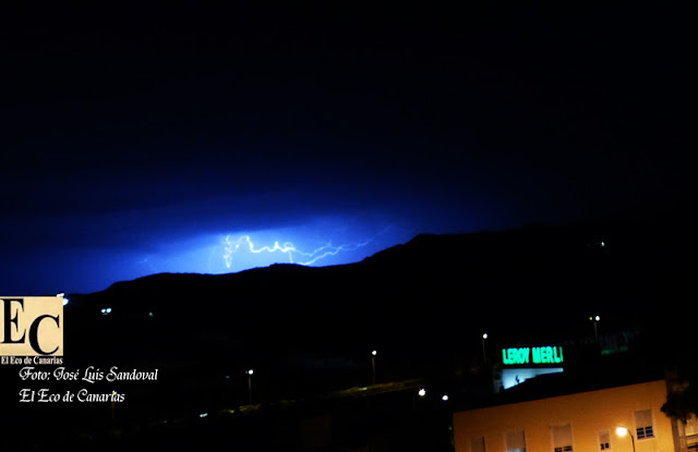 Fotos tormenta eléctrica Gran Canaria 22 septiembre