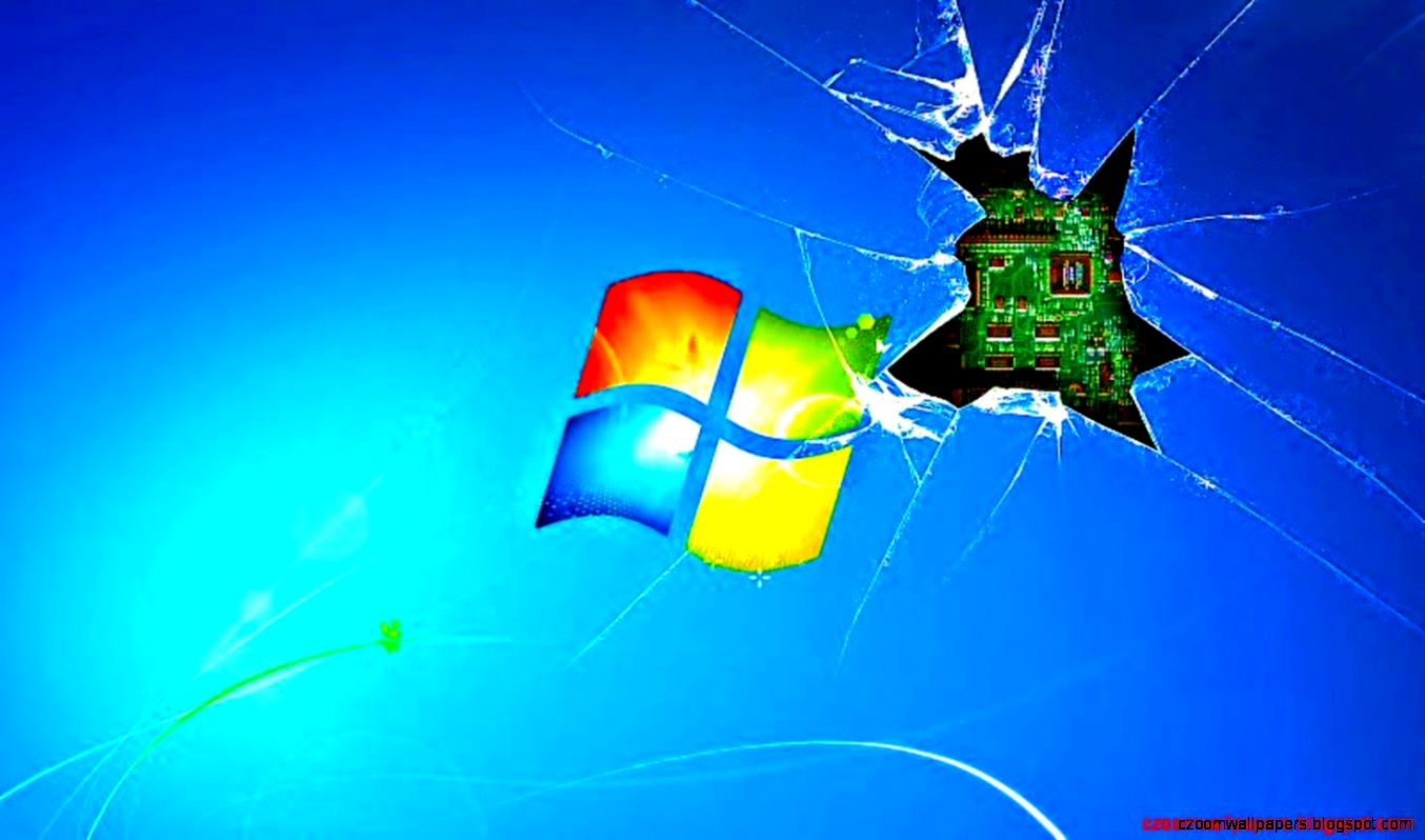 broken screen wallpaper windows 7 hd zoom wallpapers
