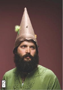 we are all weird, seth godin, party hat, beard, weird
