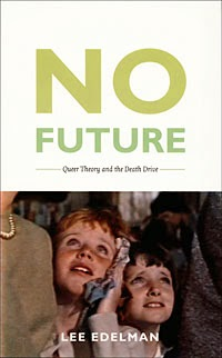No Future book cover by Lee Edelman