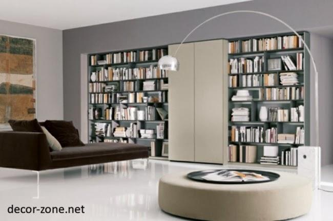 Modern Home Libraries modern home library design ideas