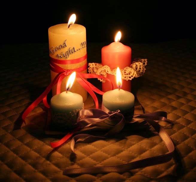 good-night-candle-image