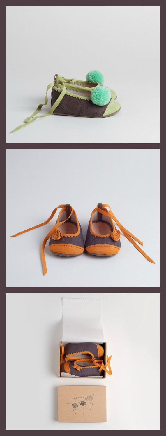 Etsy Finds - Baby Shoes