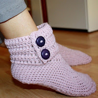Crocheted Boots Pattern4