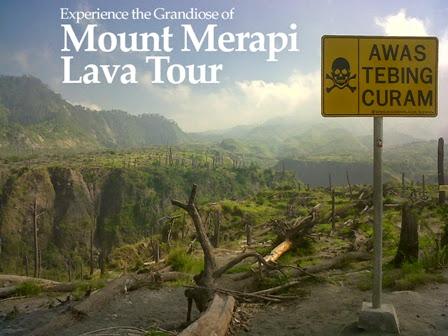 Lava Tour Merapi di Jogjakarta