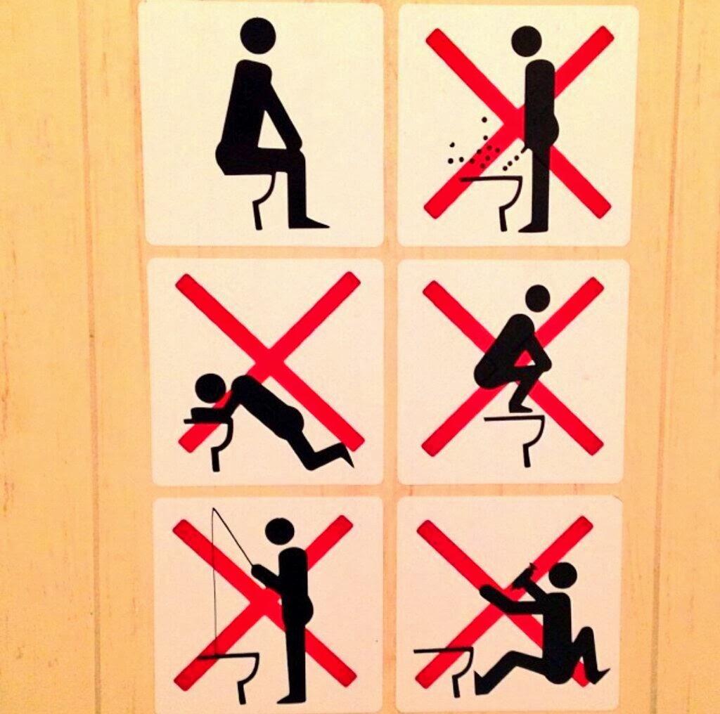 règlement toilettes sotchi