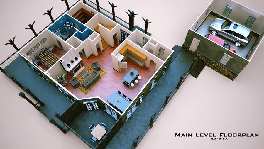 Townhouse House Plans Designs