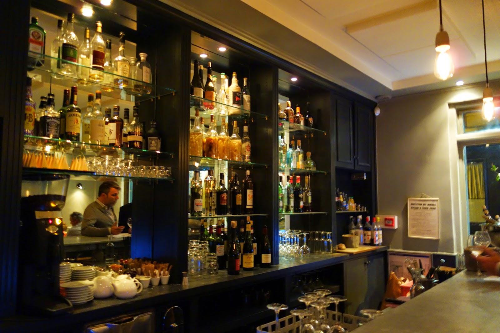 Restaurant Dix Huit Rue Bayen