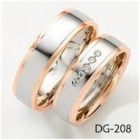 cincin kawin, cincin palladium, cincin tunangan