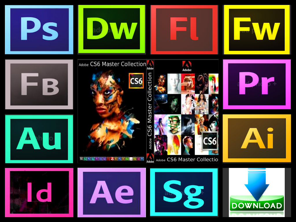 Adobe cs6 master collection mac  crack only  password