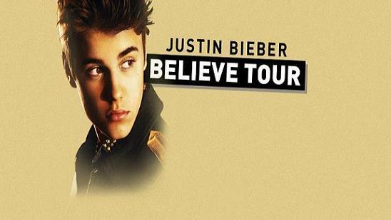 Justin Bieber Tour Dates 2013