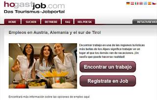 Ofertas de empleo en Austria.