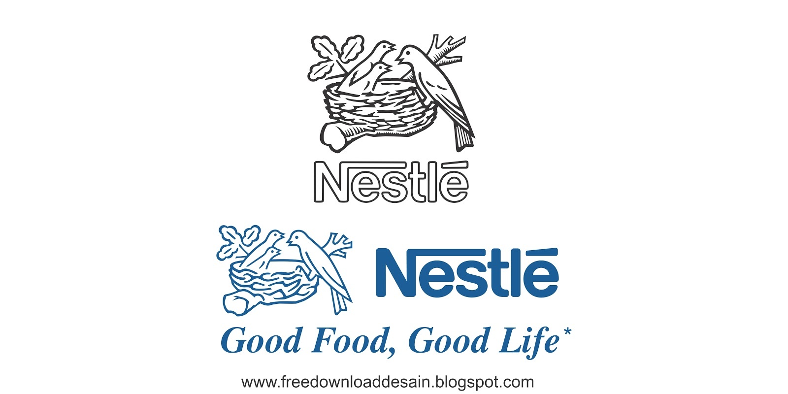 Logo Nestle With Bird